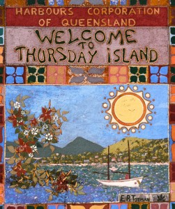 Welcome mosaic by E.R. Totman